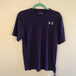 UNDER ARMOUR | Purple Short Sleeve Tee S